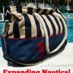 nautical tote bag pattern
