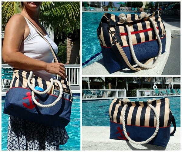 nautical tote bag pattern