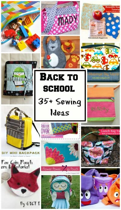 Back To School Collage So Sew Easy