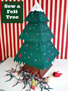 Easy felt christmas tree ornaments pack so sew easy im in love with this felt christmas tree too cute and you should solutioingenieria Gallery