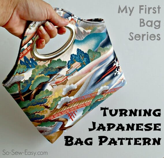 Free bag pattern – Turning Japanese Bag