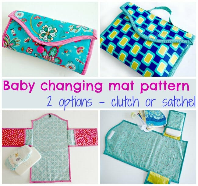 Baby changing mat pattern - two options - So Sew Easy