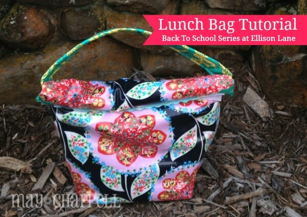 Roll top lunch bag
