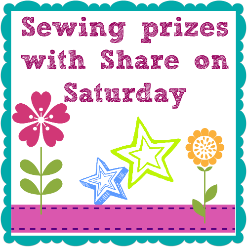 Win sewing prizes every month with So Sew Easy's Share on Saturday