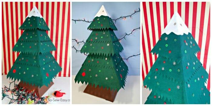 fab felt christmas tree
