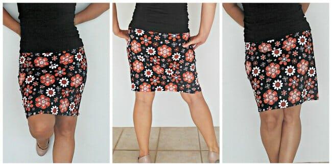 Легкая юбка