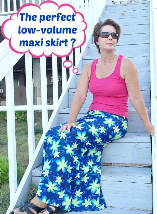 The perfect Maxi Skirt pattern - So Sew Easy