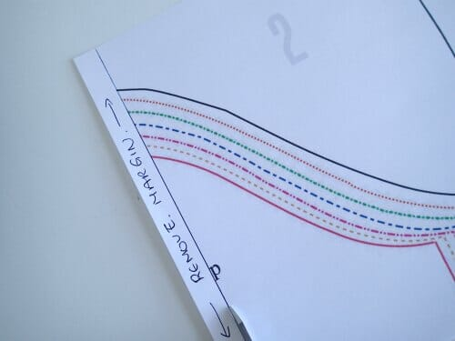 How to print and assemble a PDF Pattern - So Sew Easy