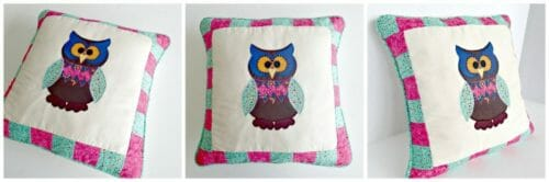 How to sew this cute owl nursery pillow