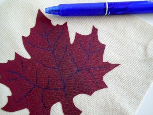 Autumn mug rug