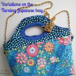 How to make changes to a simple bag pattern to make it something a bit more special.