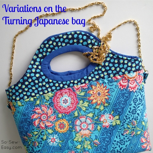 Turning Japanese Bag – some variations