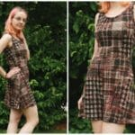 Easy to make knit dress tutorial