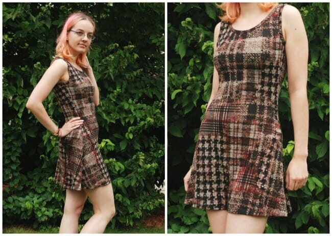 Easy to make knit dress from Gosia - So Sew Easy