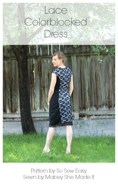 Check out all these different versions of the Color Block Dress from So Sew Easy.