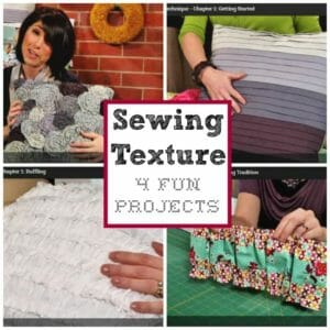 Sewing Texture class review and projects. Great for beginners and lots of creative ideas for all sorts </a srcset=