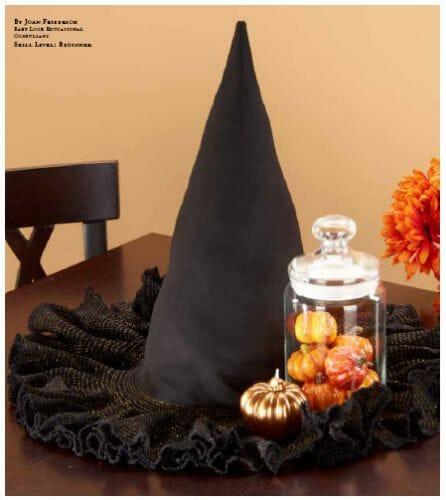 Witches hat centerpiece