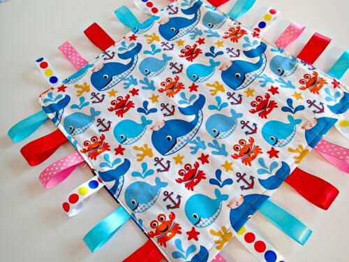 Crinkle ribbon toy for babies - So Sew Easy