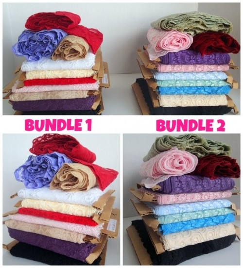 Lace bundles