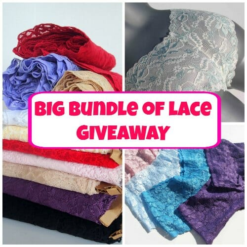 Lace giveaway