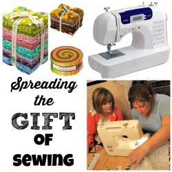 How to get someone started in sewing - essential tools and resources.