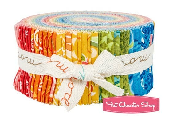 Worldwide Jelly Roll giveaway, from Fat Quarter Shop, closes 14th October