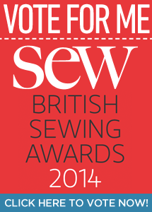 Vote for So Sew Easy in the British Sewing Awards - juts because its pretty darned awesome and everyone there makes a great team!