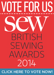 Vote for So Sew Easy in the British Sewing Awards - just because its pretty darned awesome and everyone there makes a great team!