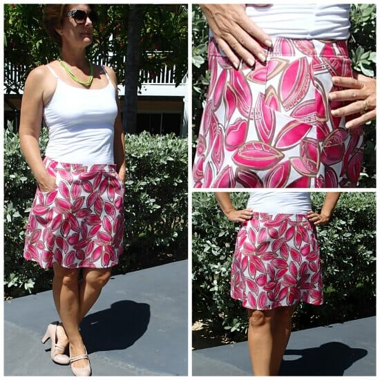 show some flare a line skirt pattern potm so sew easy
