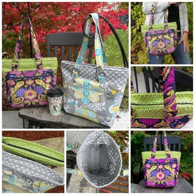 Lucy tote bag pattern