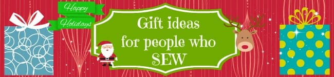 Holiday Gift Guide - so many deas for lovely gifts for people who sew. Lots of these went on MY wishlist!