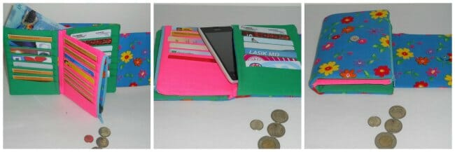 The Ultimate Wallet sewing pattern - So Sew Easy