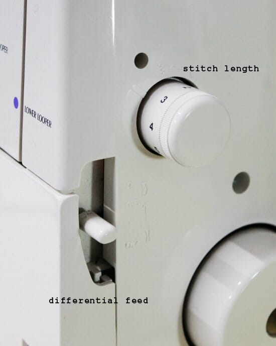 Serger Pepper - Contributor - Must have features - differential feed and stitch length