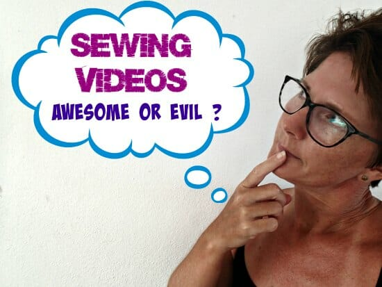 What do you think of sewing videos? Great idea? Terrible idea? Boring? Depends on who makes them..?