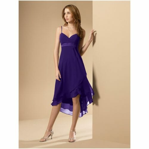 discount-tea-length-short-chiffon-purple-bridesmaid-dresses-cheap-by-color