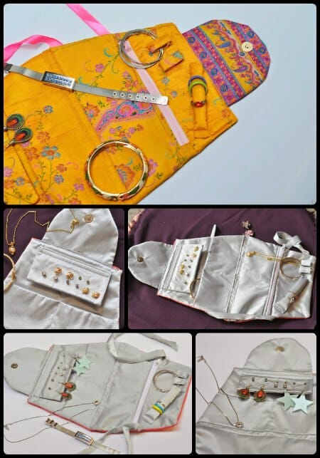 sew a jewelry travel case