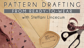Pattern drafting from ready to wear