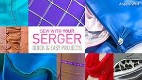 Sew with your serger