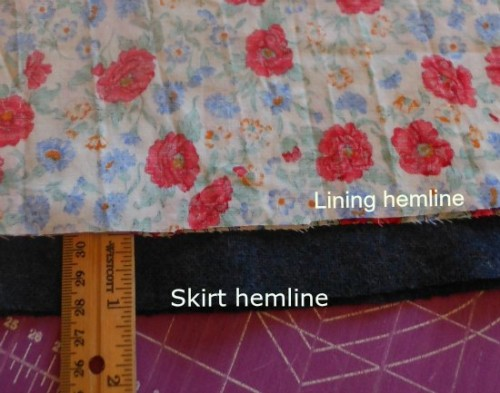 hemlines