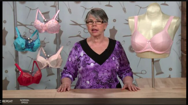 Learn how to sew a bra, and make it fit you perfectly.  Surprisingly easy!