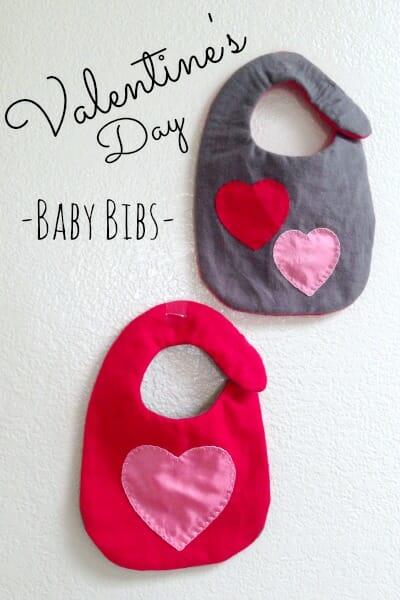 Vday Baby Bib