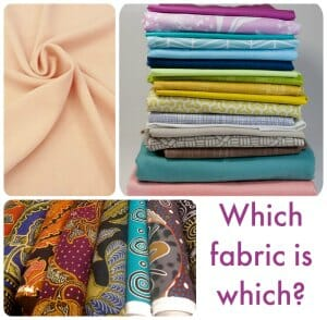 Which fabric is which? What fabric would you want to see in your perfect swatch kit?