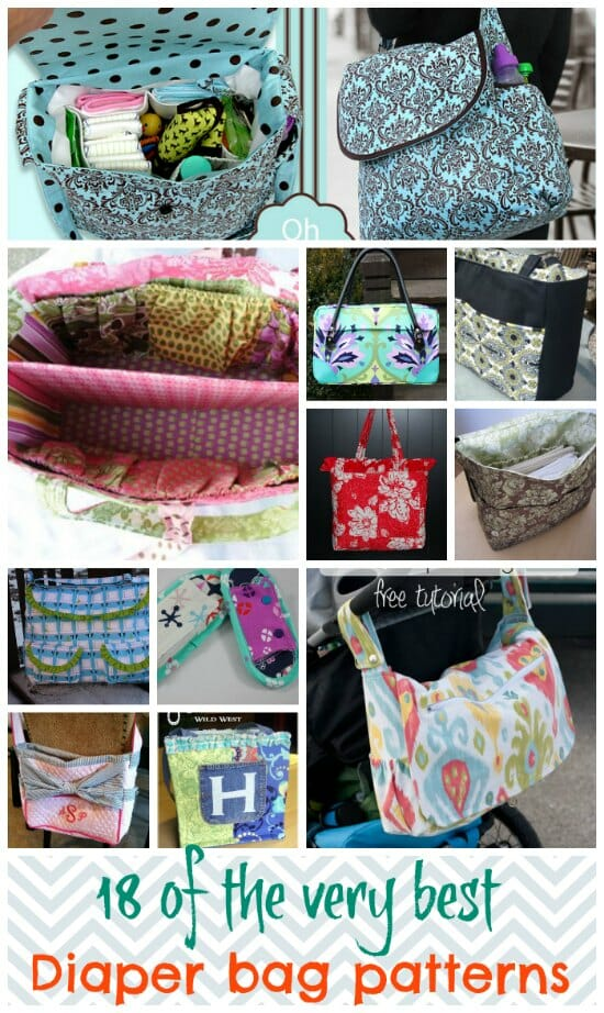 graphic about Handbag Patterns Free Printable called The excellent cost-free diaper bag routines - Consequently Sew Simple