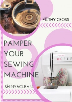 Serger Pepper - Pamper Your Sewing Machine - Guest Post for SoSewEasy - TITLE