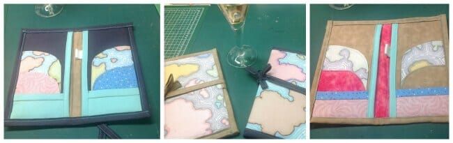 Essential Family and Travel Passport Wallet. This one contains space for a family of 2 or 4 - much more useful.