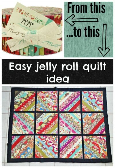 How to turn a simple jelly roll into an eyecatching quilt.  Ideal for beginners, no complicated blocks or angles.