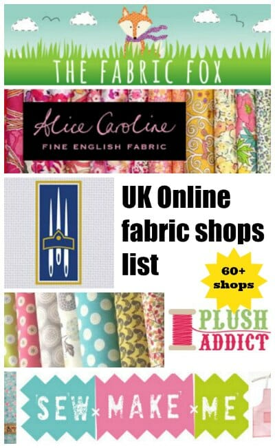 The BEST Online Fabric Shops - So Sew Easy