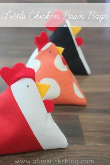 Serger Pepper - Glue Stick Blog - Chicken Bean Bag