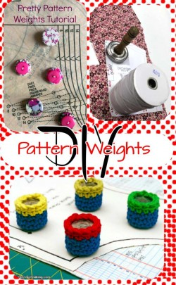 Serger Pepper Pattern Weights DIY