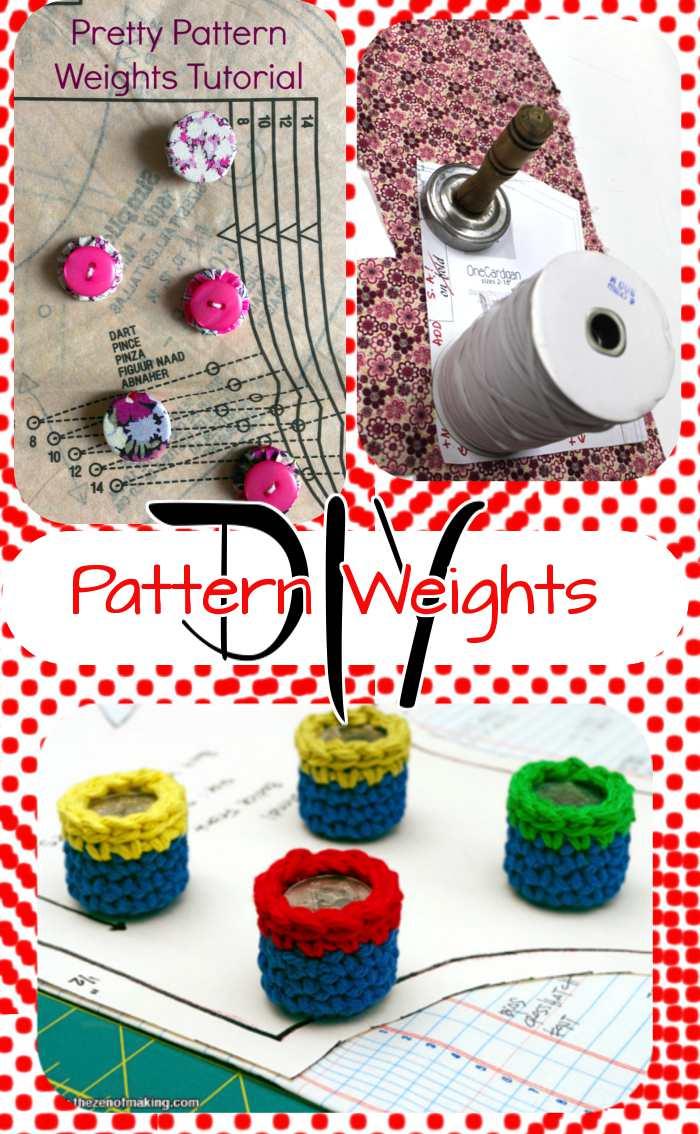 Serger Pepper Pattern Weights DIY